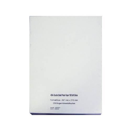 Фотобумага для лазерной печати А4, 150 г/м2, 250л, глянцевая, двухсторонняя (4304) SIHL