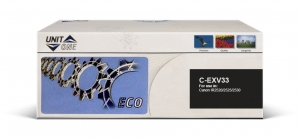 Картридж Canon C-EXV33 Uniton Eco черный