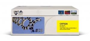 Картридж HP C9702A Uniton Eco желтый