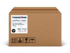 Тонер Kyocera-Mita TK-715 Tomoegawa черный 20 кг