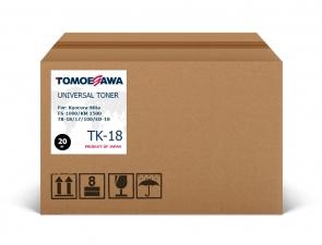 Тонер Kyocera-Mita TK-18/17/100/ED-18 Tomoegawa черный 20 кг