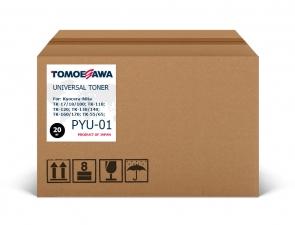 Тонер Kyocera-Mita TK-18/PYU-01 Tomoegawa черный 20 кг