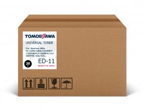 Тонер Kyocera-Mita TK-1110/ED-11 Tomoegawa черный 20 кг